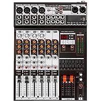 Mixer 8 canais - JBL Proaudio - SX 802FX USB