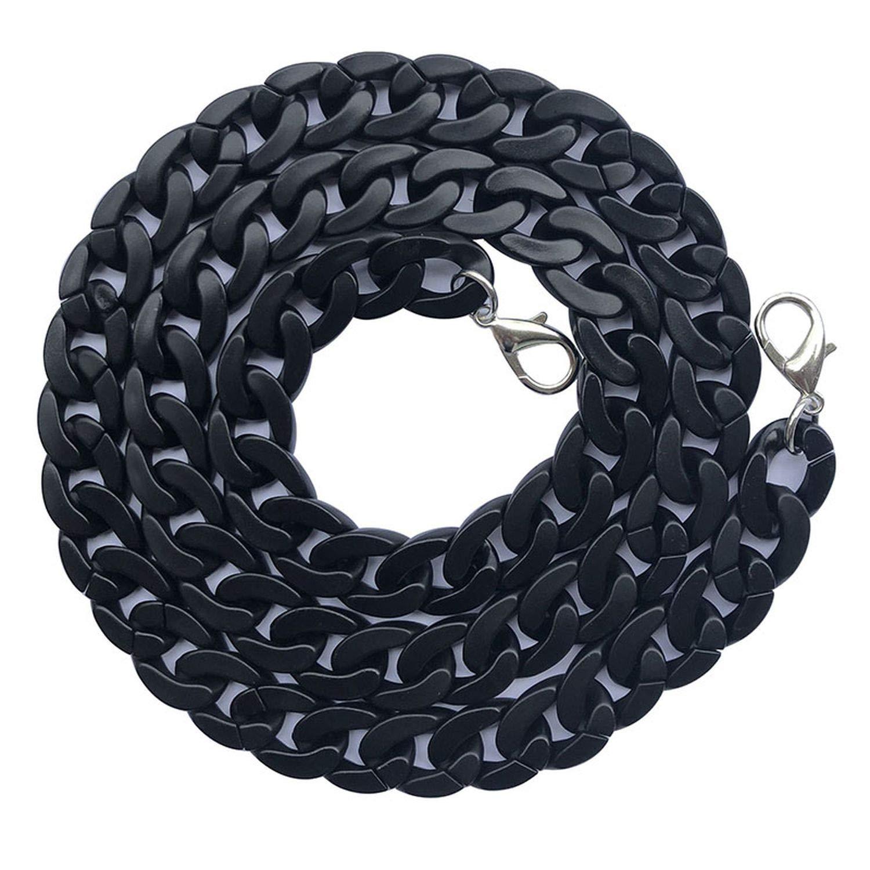 negro Correa de repuesto para bolsos y bolsos de 60//120 cm para accesorios