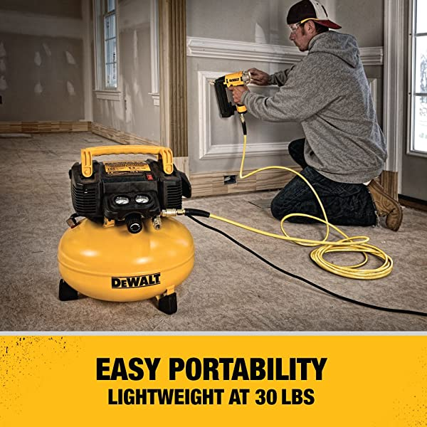 DEWALT DWFP55126 is one of the best electric air compressor on the market