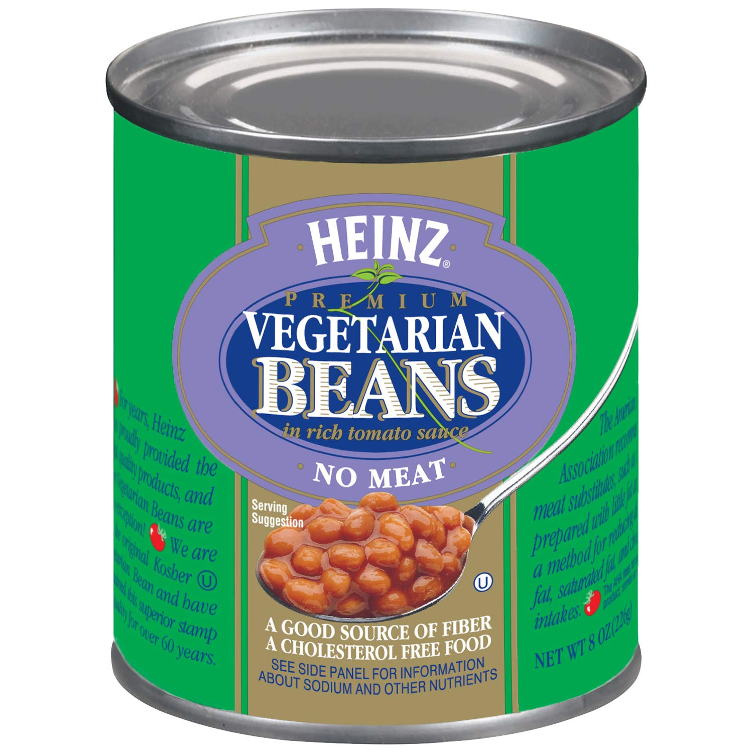 Heinz Vegetarian Beans (8 oz Cans, Pack of 24) by Heinz