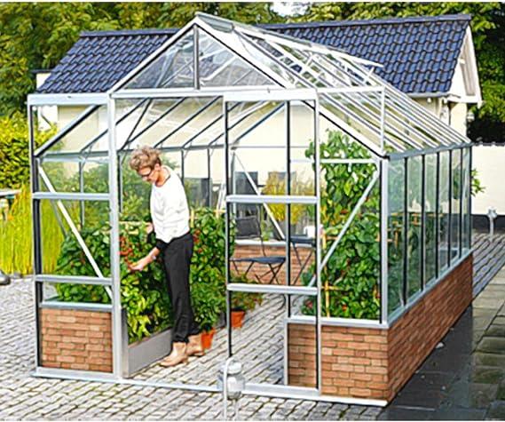 Cassandra 11500 - Invernadero (aluminio ESG, 11, 5 m2, para zócalo ...