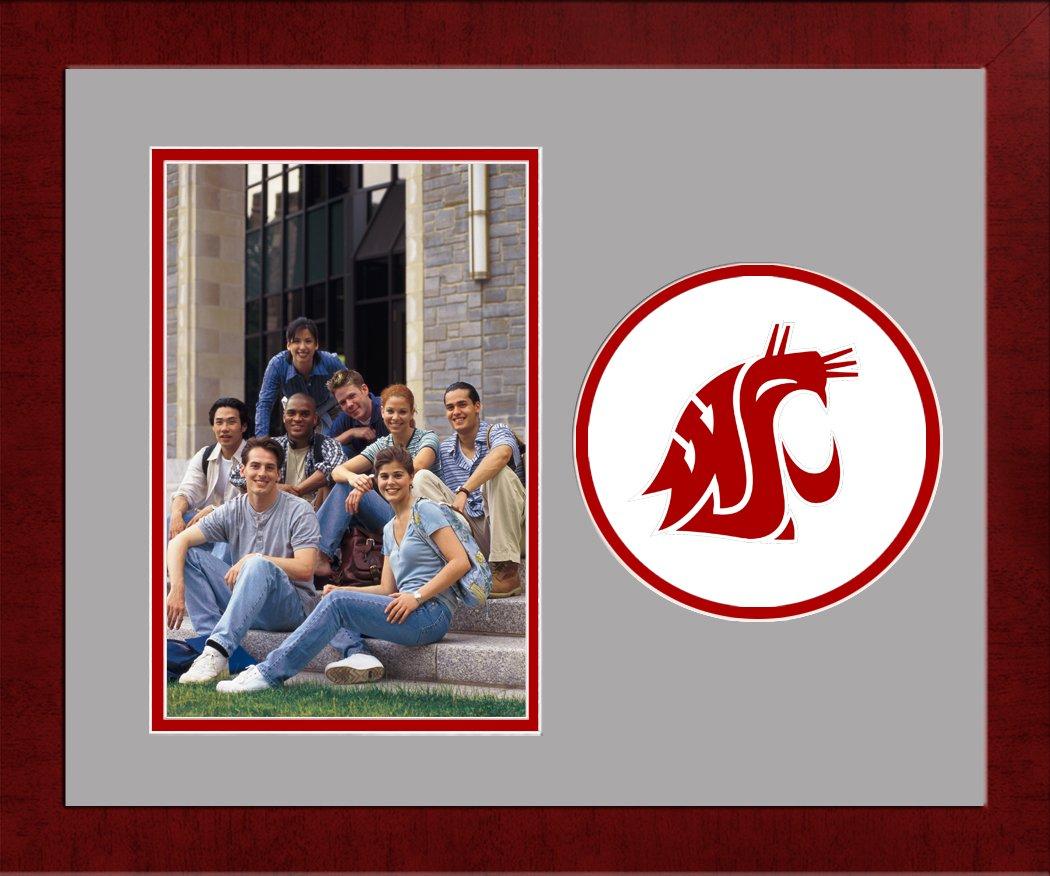 Campus Images NCAA Washington State Cougars University Spirit Photo Frame (Vertical)