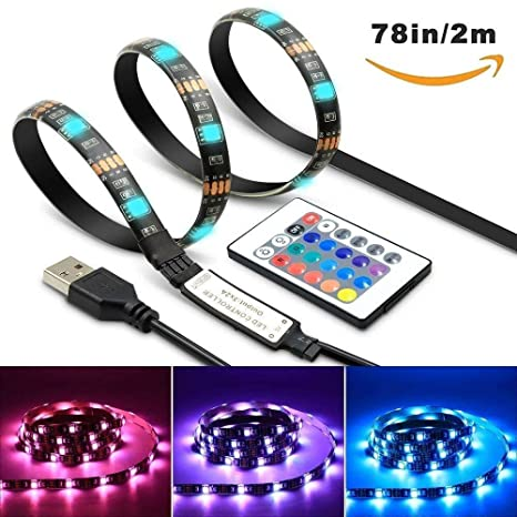 Buy Sgm Led Tv Backlight Desktop Light Strip Usb 2 Meter78 Inch