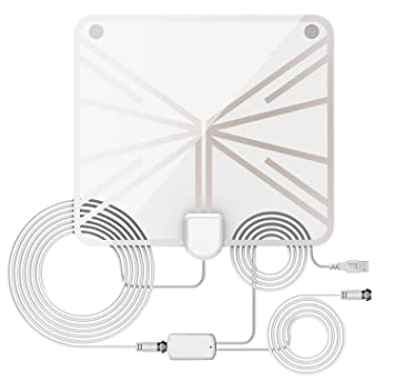 Amazon.com: [NEW 2019]HDTV Antenna Indoor Digital TV Antenna ...