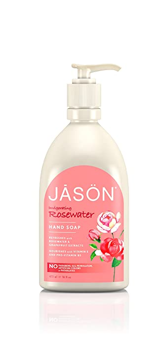 Jason Invigorating Rosewater Hand & Body Lotion 16 oz