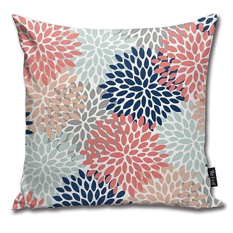 Amazon.com: Lalaco-Design - Funda de cojín con diseño floral ...