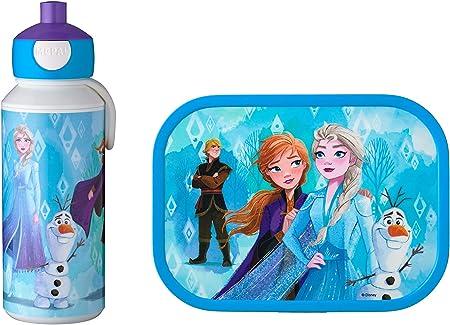 Mepal Juego de Almuerzo, plástico ABS, Frozen II, 2 Partes