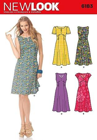 New Look NL6183 Schnittmuster Kleid, 22 x 15 cm: Amazon.de: Küche ...
