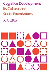 Cognitive Development: Its Cultural and Social Foundations Paperback