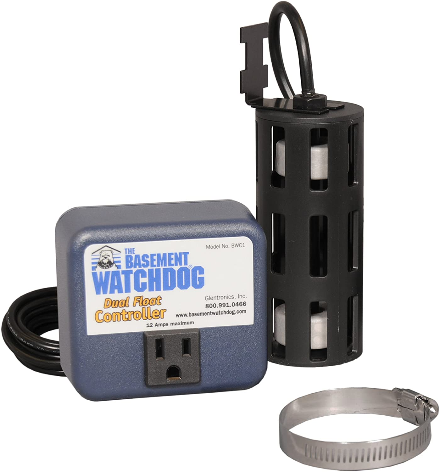 THE BASEMENT WATCHDOG Big Combo CONNECT Model CITS-50 1//2 HP Primary and Battery Backup Sump Pump System with Smart WiFi Capable and 24 Hour a Day Monitoring Controller