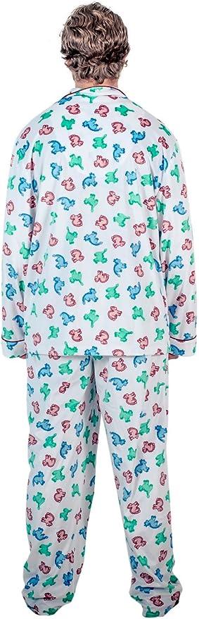 Amazon Com National Lampoon S Christmas Vacation Clark S Dinosaur Pajama Set Clothing