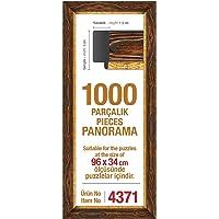 1000'lik Kahverengi Panorama 96 x 34 cm Puzzle Çerçevesi