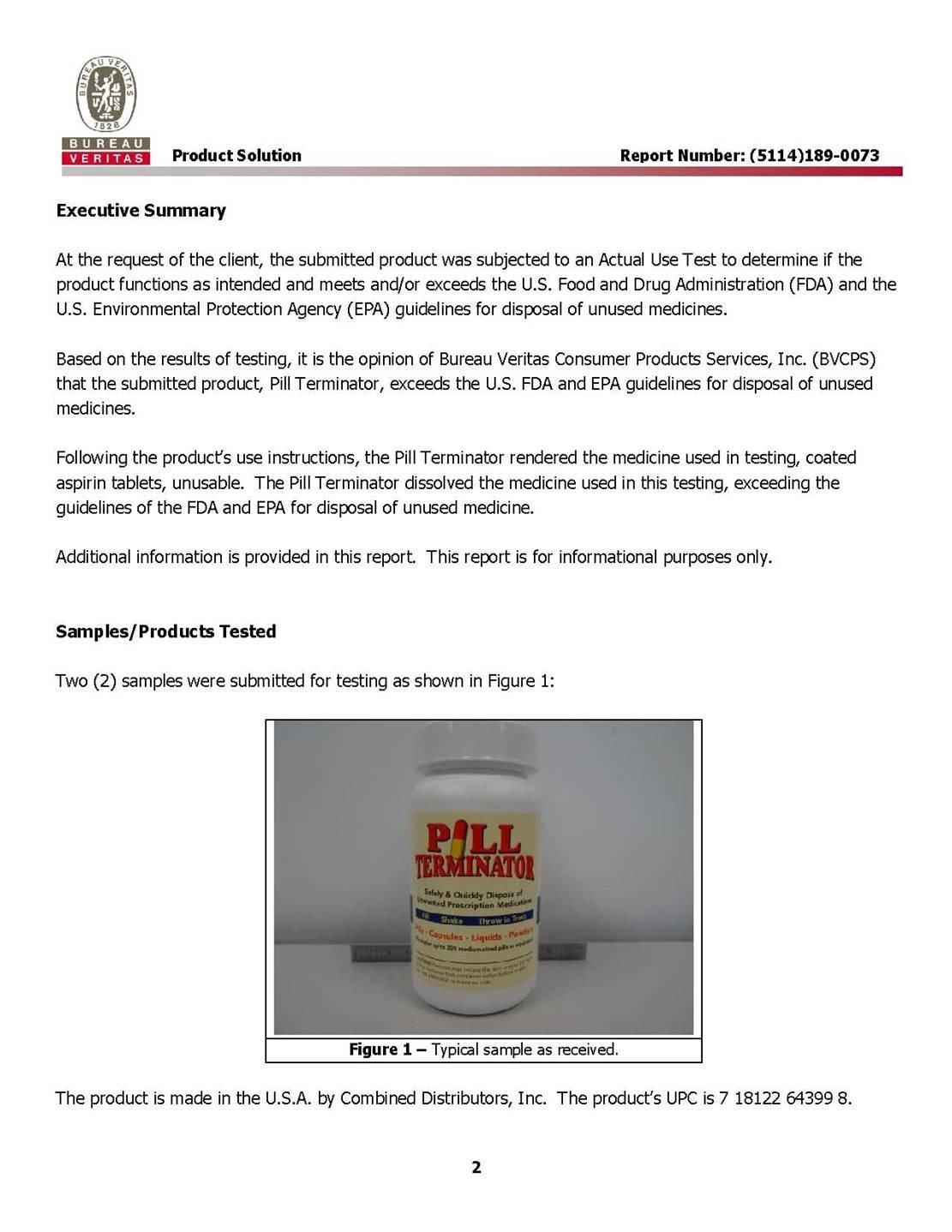 f22a9399c5 Amazon.com  Pill Terminator - Safe Pill Disposal Container