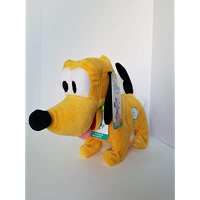 Disney Baby Pluto Animated Walking and Wags Tail Pet Includes Batteries: Toys & Games