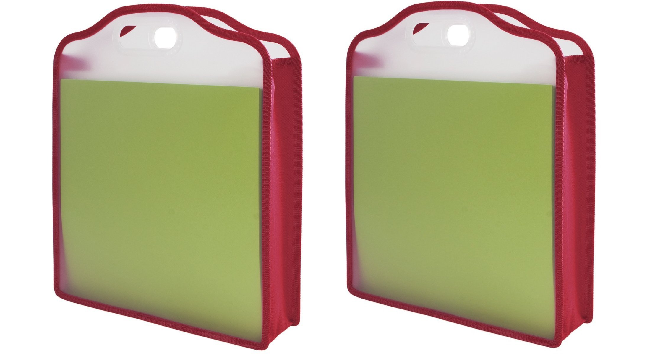 Storage Studios Expanding Paper Folio for 12 x 12 Sheets, 15.75 x 13 x 3 Inches, Color May Vary, CH93391 (2 Pack)