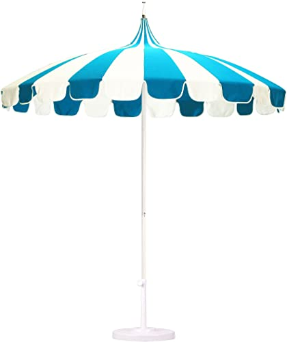 California Umbrella 8.5' Rd. Pagoda Market Umbrella