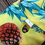 Allywit Swimwear,Women Floral and Pineapple Print