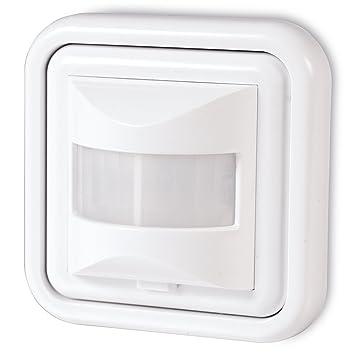 Sonero IMS050 Detector movimiento infrarrojo, IP20, 160°/9m 1 pz, blanco: Amazon.es: Bricolaje y herramientas