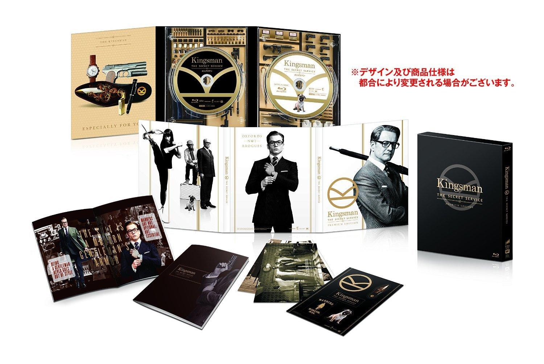 KINGSMAN: THE SECRET SERVICE (2-disc Blu-ray Premium Edition) [World Exclusive Artwork Digipack + Slip Box + Book; Limited Edition Japan Exclusive] B019ZYOCDC