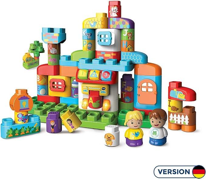 VTech-80-604904 Juego de construcción de Bloques, Multicolor (80-604904): Amazon.es: Juguetes y juegos