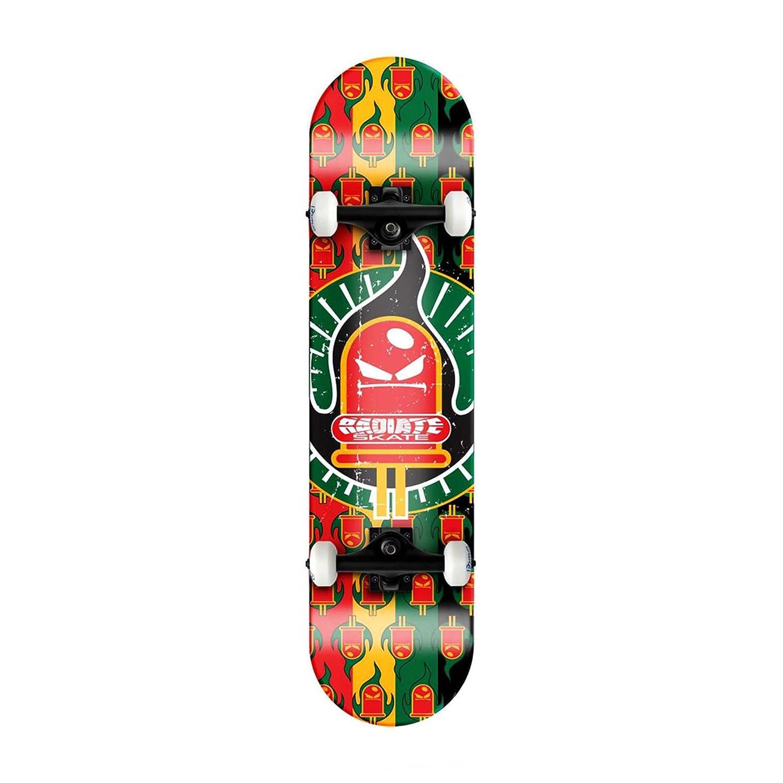 【驚きの値段】 Rockboard Radiate Radiate Skateboard- Rasta Rockboard Logo Skateboard by Radiate Skateboard B005IQSIGO, 快適style:4317a935 --- a0267596.xsph.ru