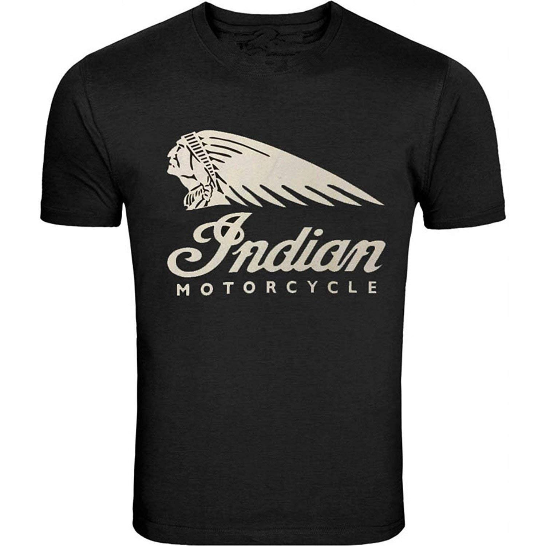 100c4c57b Amazon.com: Funny Mens Indian Motorcycle Generic T-Shirt O-Neck  Short-Sleeve: Clothing