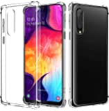 Samsung Galaxy A50s / A30s / A50 Clear Back Case Soft TPU Cover with Shock Absorption Bumper Corners Full Protective Case for Samsung Galaxy A50s / A30s / A50 (Clear) by Nice.Store.UAE