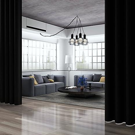Amazoncom Rose Home Fashion Rhf Room Divider Curtainwide Thermal