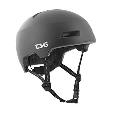 TSG - Status Solid Color in-Mold Construction Helmet for Bike/Bicycle : Sports & Outdoors