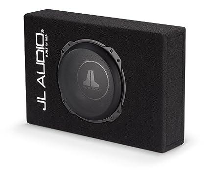 amazon com jl audio cs110lg tw3 sealed powerwedge enclosure with 10 rh amazon com