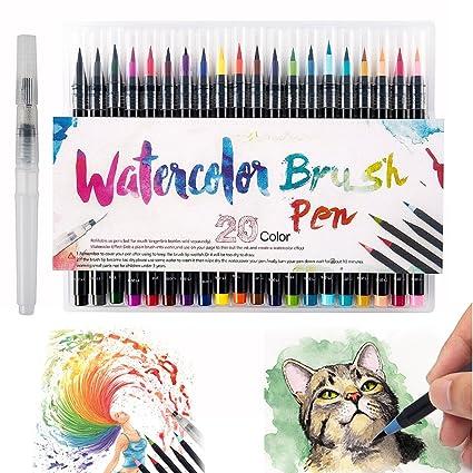 Scorpiuse conjunto de marcadores 20 colores surtidos rotuladores de ...