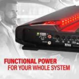 BOSS Audio Systems PT1600 2 Channel Car Amplifier - 1600 Watts, Full Range, Class A/B, 2-8 Ohm Stable, Mosfet Power Supply, Bridgeable