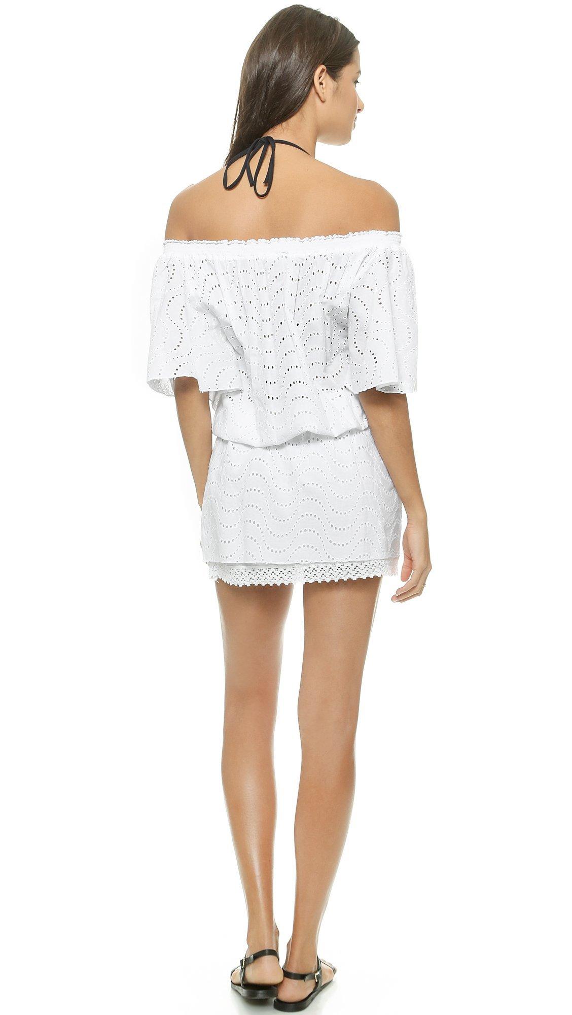 Melissa Odabash Women's Michea Cover Up Dress, White, Small by Melissa Odabash (Image #3)