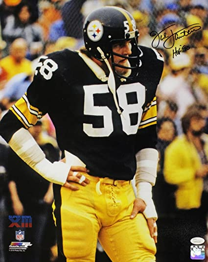 554fd5756 Jack Lambert Autographed Pittsburgh Steelers SB XIII 16x20 Photo HOF ...