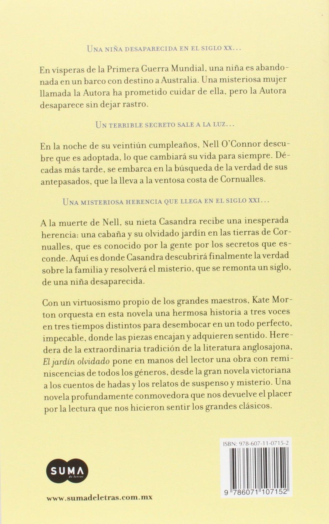 El Jardin Olvidado=The Forgotten Garden: Amazon.es: Monton, Kate: Libros
