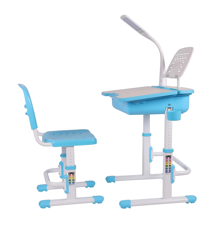 Ergonomic desk with chair for kids School Desk Childrens Study
