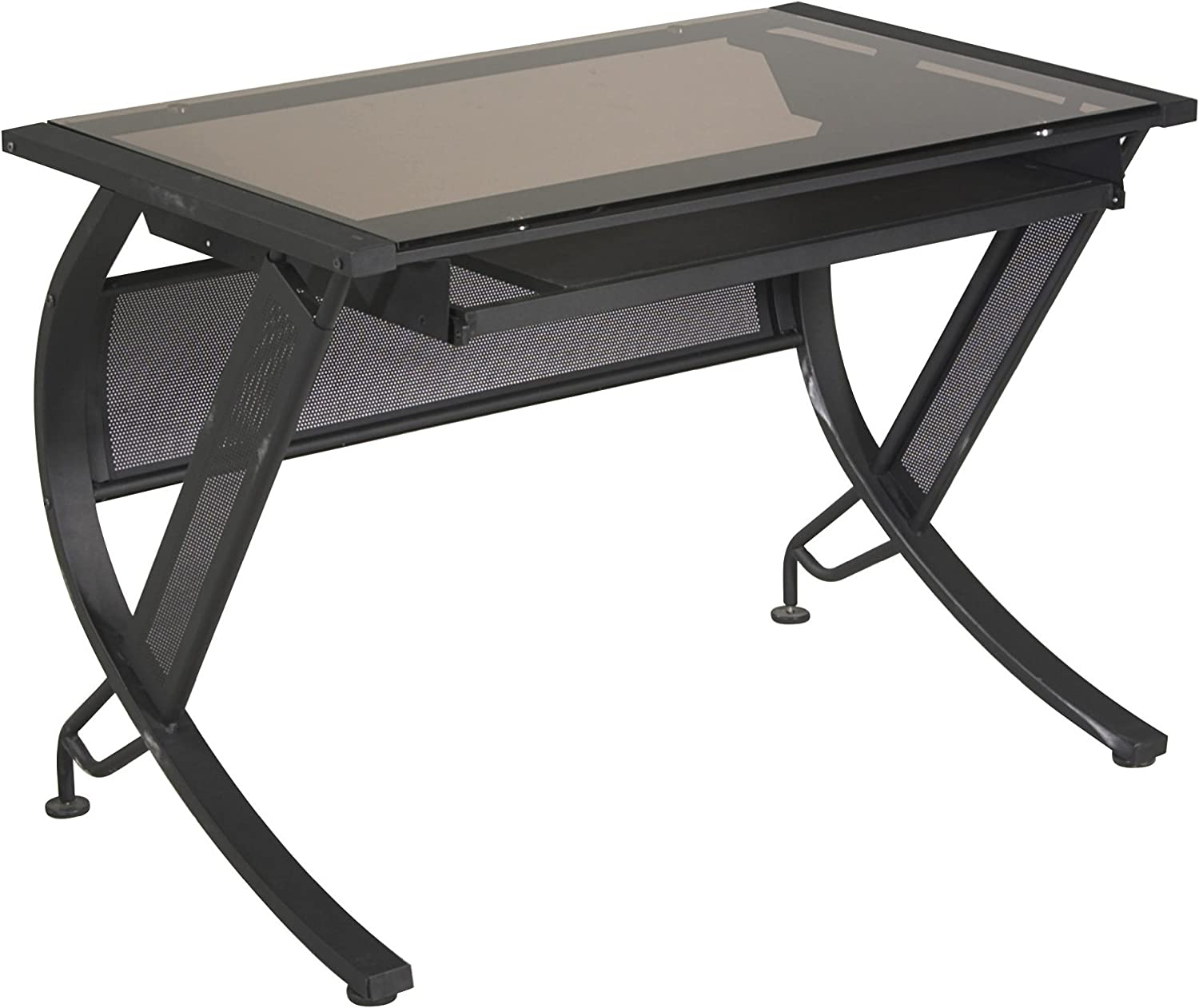 Amazon Com Office Star Horizon Computer Desk With Pull Out