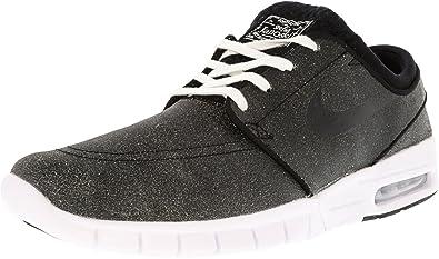 sale retailer a1f8b c3f77 Nike Stefan Janoski Max L PRM, Chaussures de Skate Homme, Noir-Negro Black