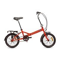 Ford B-Max, Unisex Folding Bike, Single Speed, 16 Inch Wheel, Gloss Red