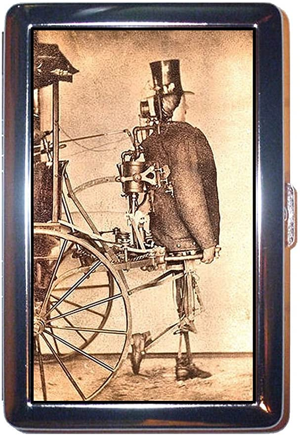 Steampunk Robot siglo XIX Victoriano Hombre en Tophat acero ...