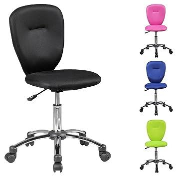 Schreibtischstuhl ergonomisch kinder  Amstyle Kinder-Schreibtischstuhl ANNA für Kinder ab 6 mit Lehne ...