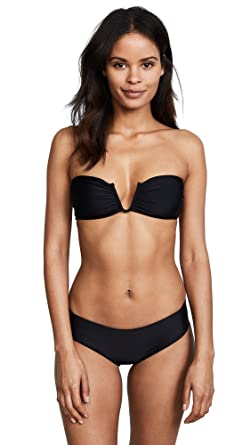 bf67702ad4 Amazon.com  MIKOH Women s Reunion Bikini Top