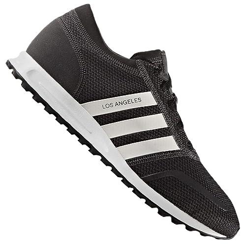 brand new 33406 966ea Adidas Uomo Los Angeles Scarpe da Corsa - Nero, 40 23 EU