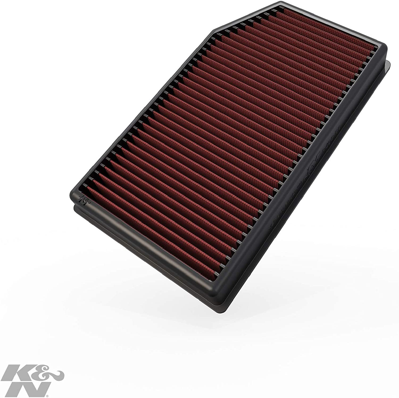 JL K/&N Filters 33-5076 Air Filter Fits 18-20 Gladiator Wrangler