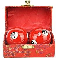 GeKLok Baoding ballen, Chinese gezondheid oefening stressballen, 40mm ballen met doos (A)