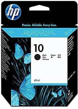 HP C4844A 10 Cartucho de Tinta Original, 1 unidad, negro: Hp ...