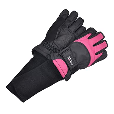 SnowStoppers Waterproof Ski & Snowboard Winter Kids Gloves (XX-Small Ages 3-5