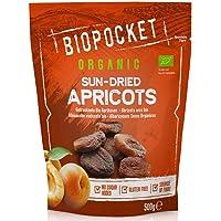 Biopocket - Orejones de albaricoque ecológicos, 2 bolsas