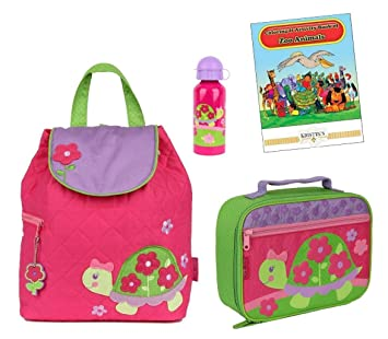Stephen Joseph Quilted Backpack, Lunch Box,