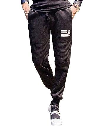 Minetom Homme Désinvolte Pantalon de Sport Jogging Sarouel Fitness Pants   Amazon.fr  Vêtements et accessoires c7905f858af